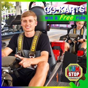 Win a Free Go-Kart Ride