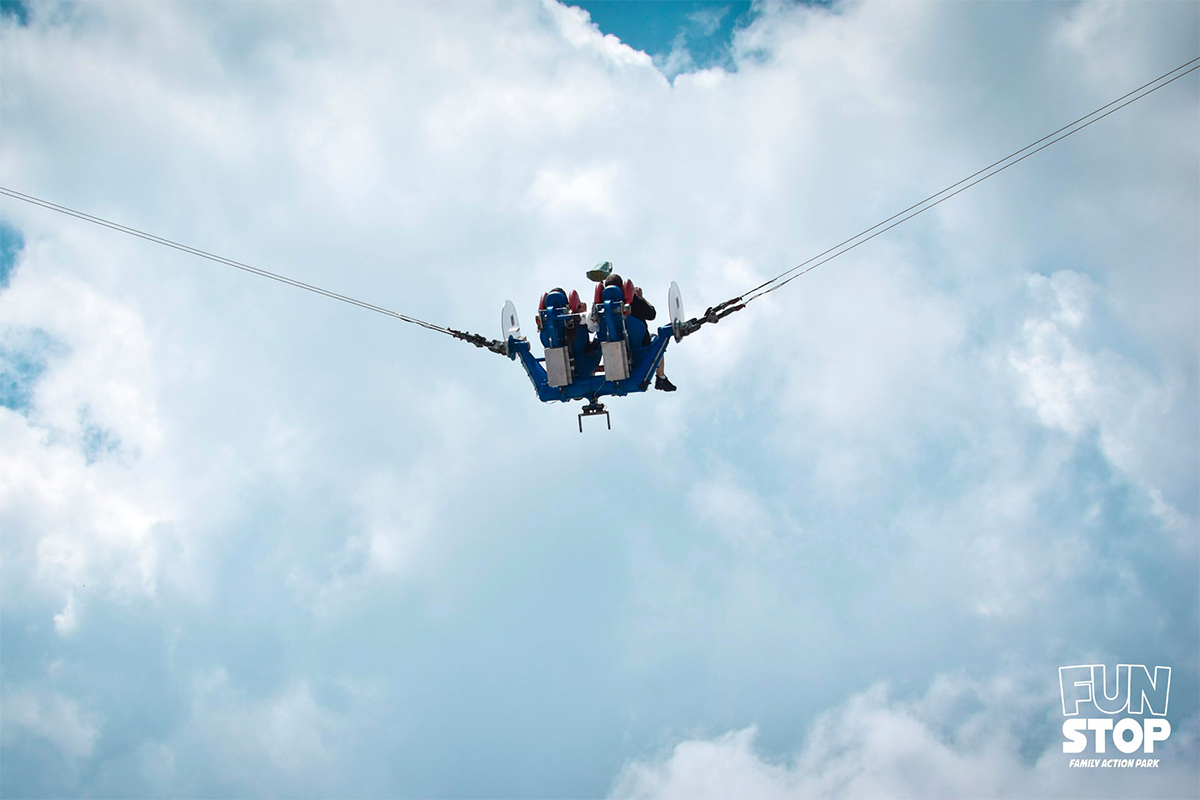 Take the Slingshot challenge in Pigeon Forge